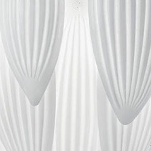 Milk White Murano Glass
