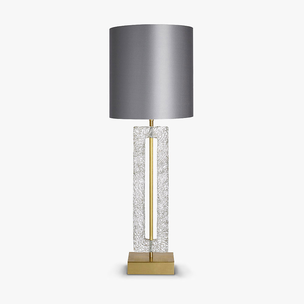 Single Ice Block Lamp
