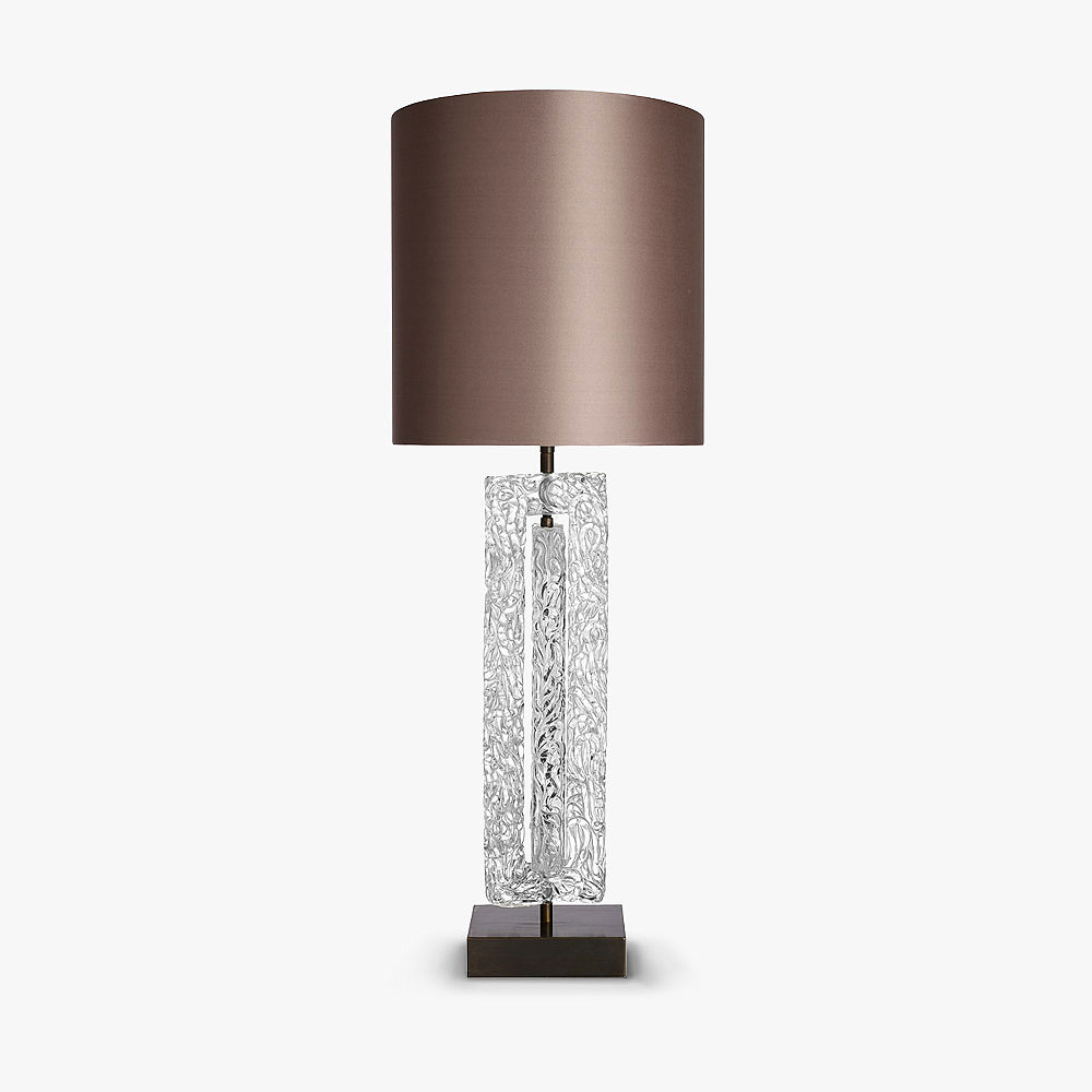 Double Ice Block Lamp