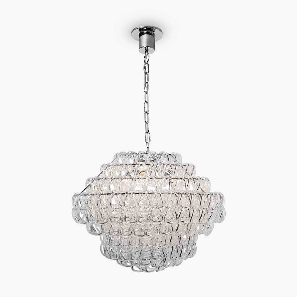 Catena Small Link Chandelier