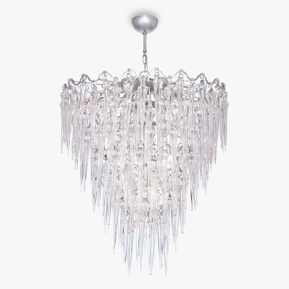 Large Icicle Chandelier