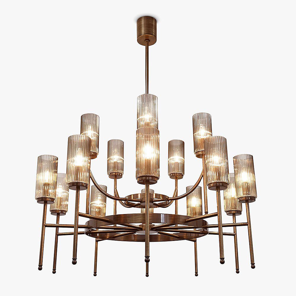 Zeus Orbit Chandelier