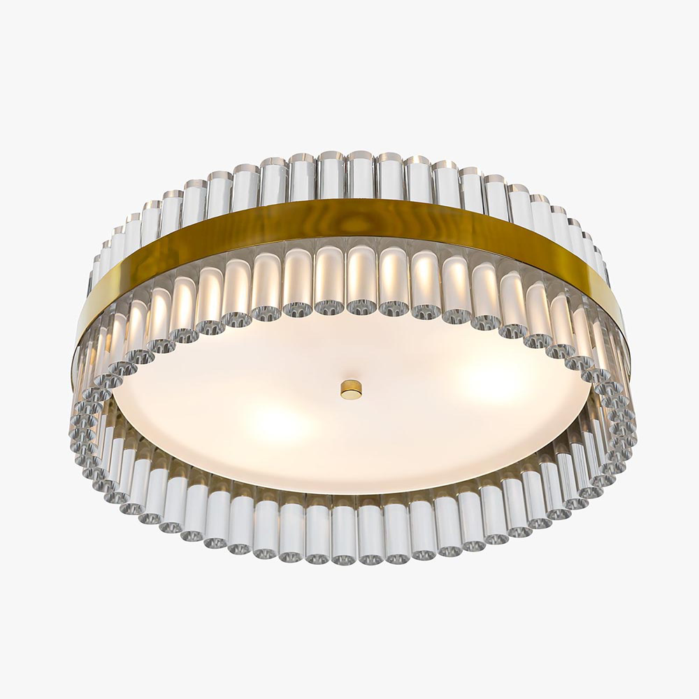 Curzon Street Flush Mount Chandelier