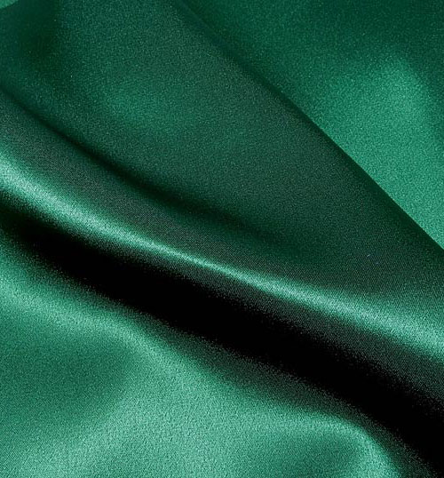 Crepe Satin Silk-1806W - 46 Bottle Green