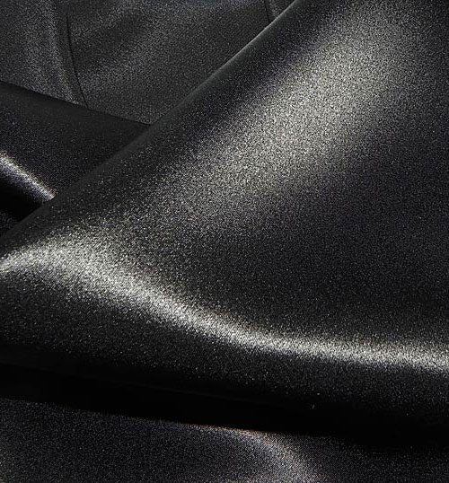 Crepe Satin Silk-1806W - 52 Black
