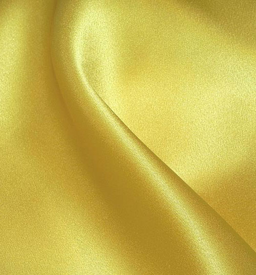 Crepe Satin Silk-1806W - 69 Canary Yellow