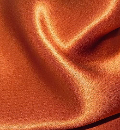 Crepe Satin Silk-1806W - 140 Burnt Orange