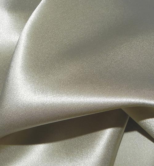 Crepe Satin Silk-1806W - 216 Pebble
