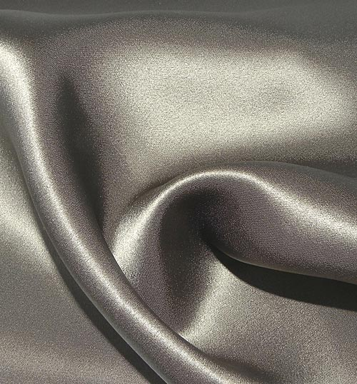 Crepe Satin Silk-1806W - 310 Timber Wolf