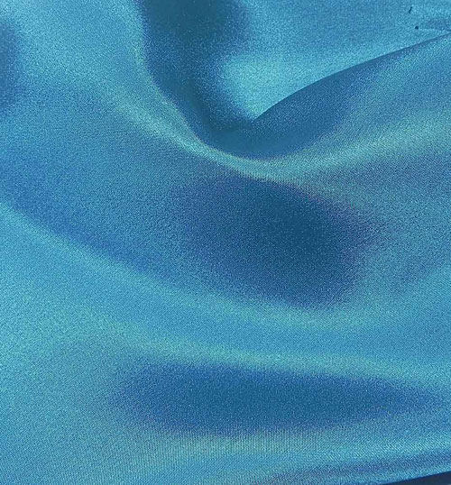 Crepe Satin Silk-1806W - 522 Teal