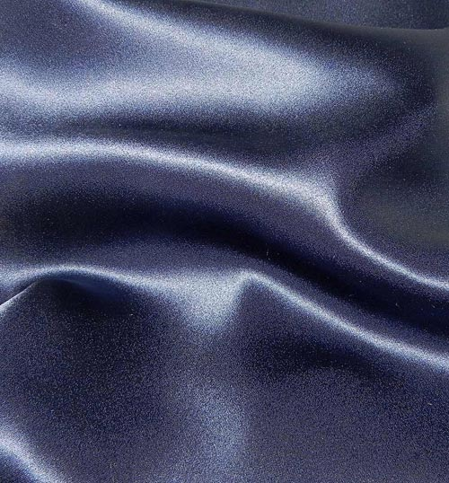 Crepe Satin Silk-1806W - 57N New Navy
