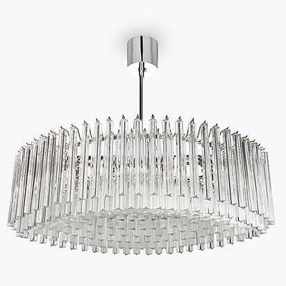 Oval Drum Chandelier