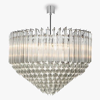 Large Point chandelier