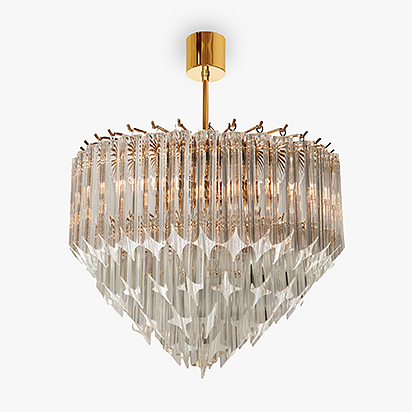 Small Point Chandelier