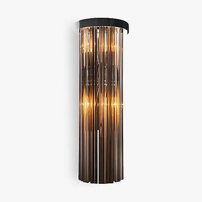 Long Drum Wall Light