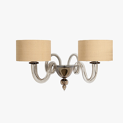 Michelangelo  Wall Light With Drum Shades